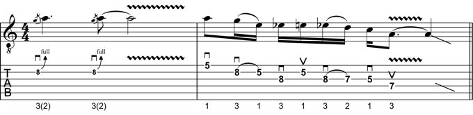 Rock Guitar Lick 17: Angus Young Style Lick #1