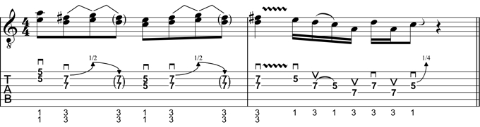 Rock Guitar Lick 18: Angus Young Style Lick #2